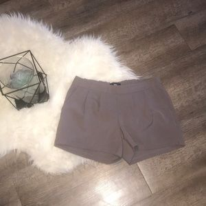 Grey Polyester Blend Shorts- Mossimo- Sz S